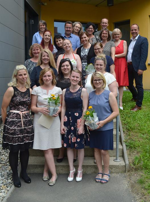 Neue Tagesmütter in der Region Gleisdorf